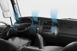 Hệ thống điều hòa nhiệt độ cabin - trang bị tiêu chuẩn