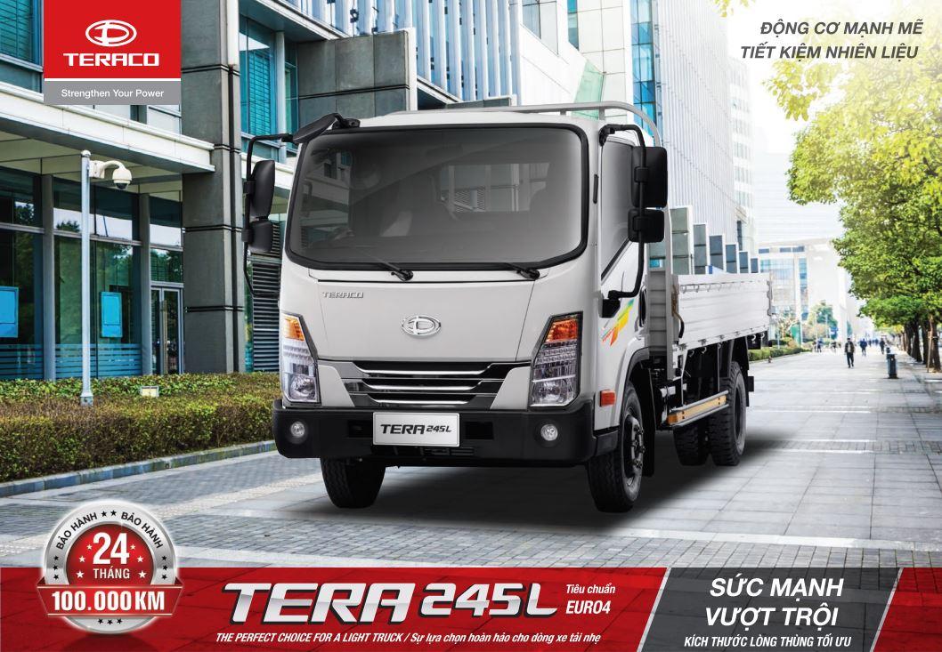 tera 245l thiết kế sang trọng và hiện đại